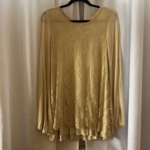 Lacy Long Sleeve Blouse